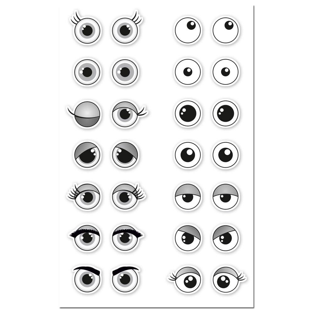 Augen ausdrücken