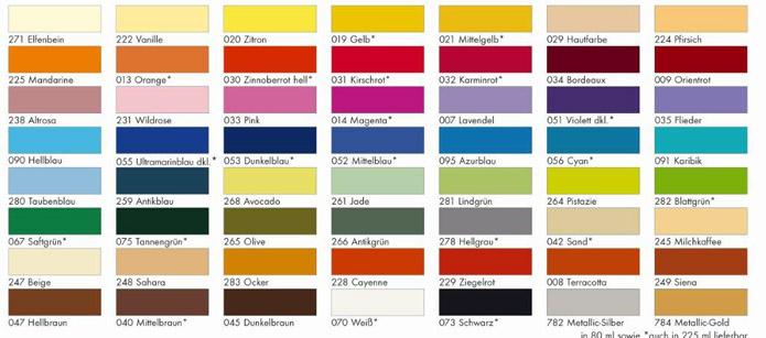 Marabu Basic Acryl 225 Ml Acrylfarbe Prima Basteln