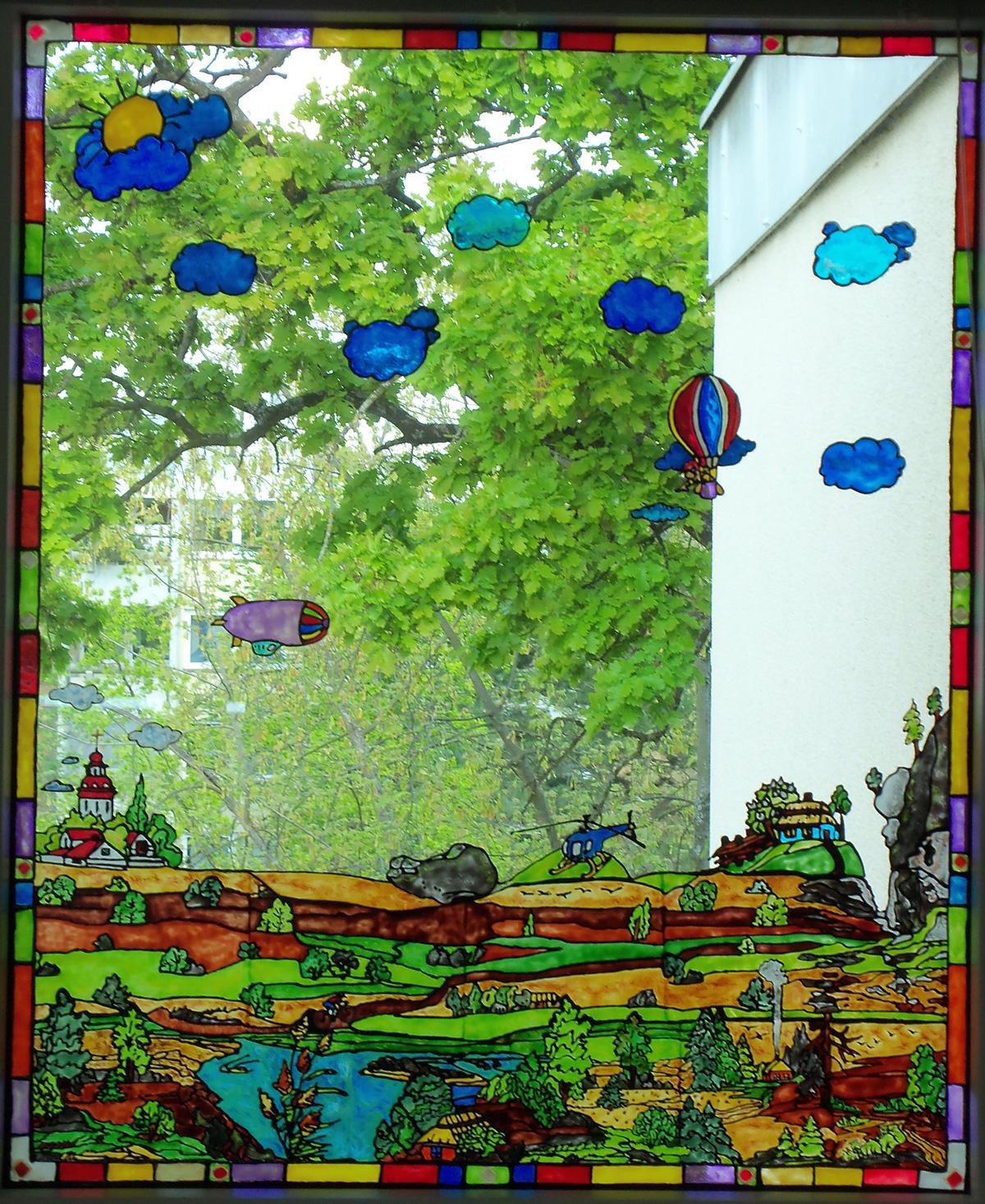 Window Color Farbe, Fenstermalfarbe 80 ml - Prima Basteln
