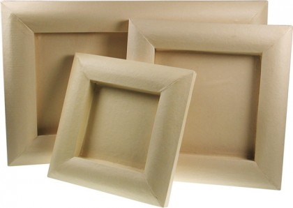 papp art 3d bilderrahmen bilderrahmen aus pappe prima basteln. Black Bedroom Furniture Sets. Home Design Ideas