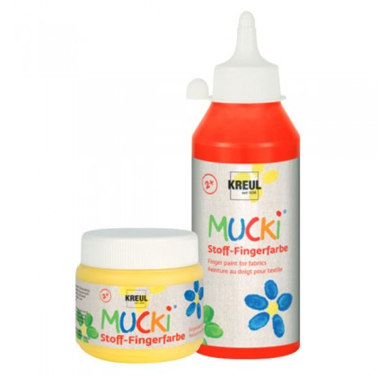 MUCKI Stoff-Fingerfarbe, 150 ml
