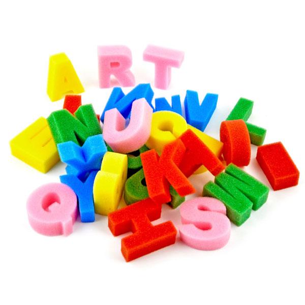 Schwamm-Stempel ABC