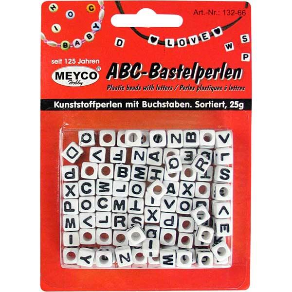 ABC-Bastelperlen, Würfelperlen