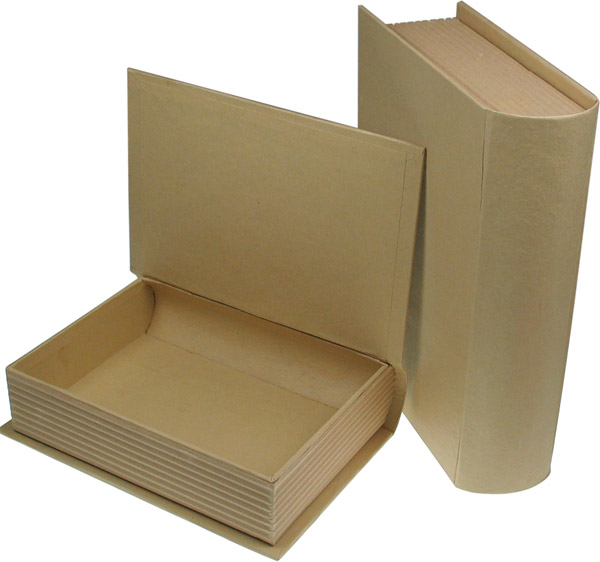Pappschachtel Buch, 2er-Set