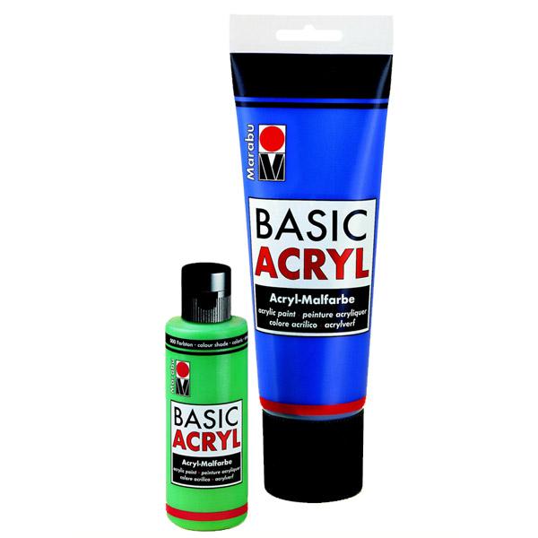 Marabu Basic Acryl, 225 ml