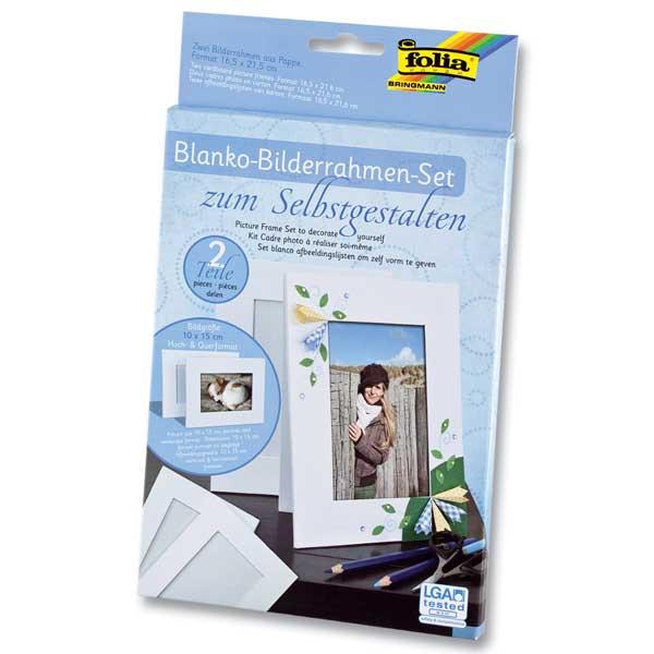 Blanko-Bilderrahmen-Set