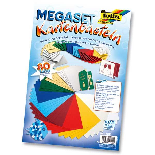 """Megaset """"Kartenbasteln"""""""