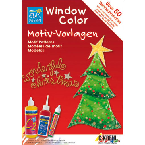 "Window Color Malvorlagen ""Wonderful Christmas"""