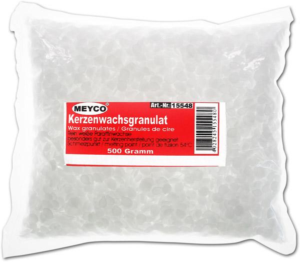 Kerzenwachs-Granulat Paraffin, naturweiss