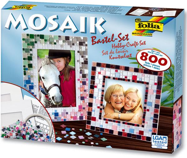 Mosaik Bastel-Set, 800 Teile