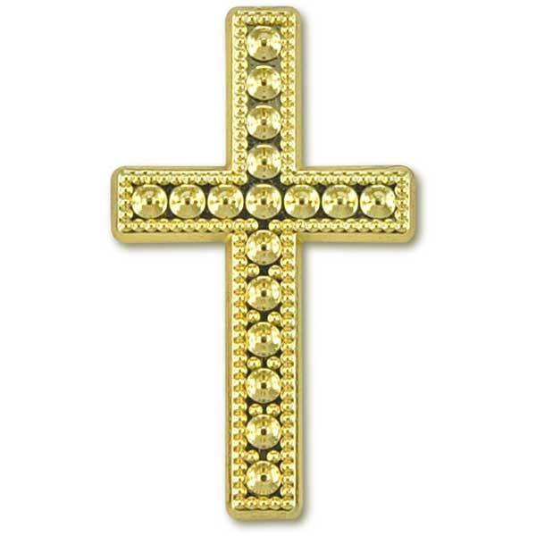 Deko-Kreuz, gold