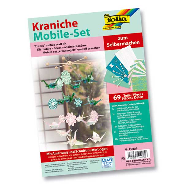 "Mobile-Set ""Kraniche"""