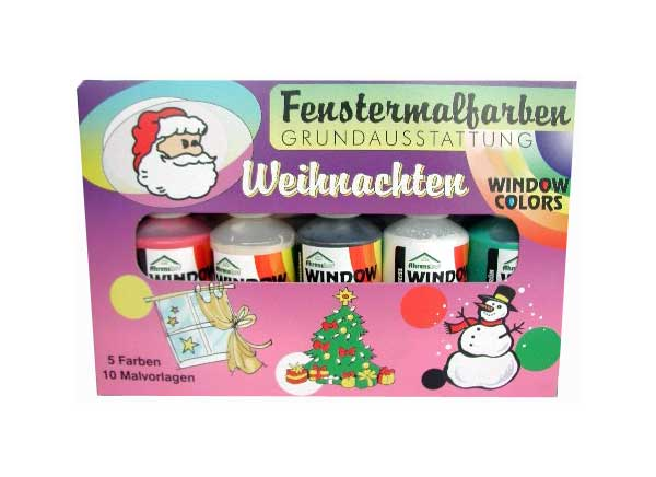 "Window Color Starter-Set ""Weihnachten"""