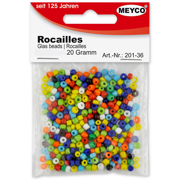 Rocailles - Indianerperlen 5 mm, 20 g