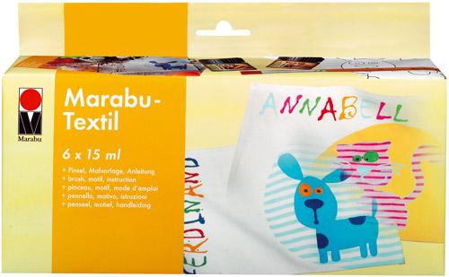 Marabu Starter-Set Textil