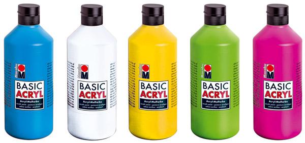 Marabu Basic Acryl, 500 ml