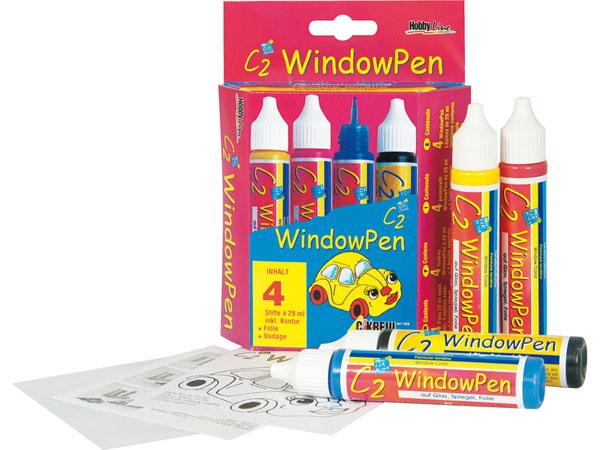 HOBBY LINE C2 Window Pen Set