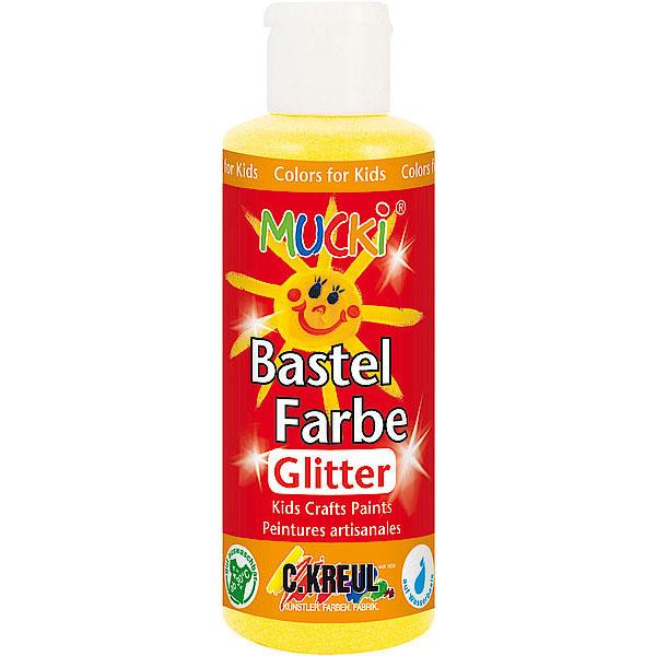 Mucki Bastelfarbe Glitter 80 ml