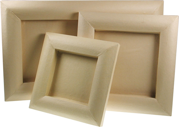 Papp-Art 3D-Bilderrahmen