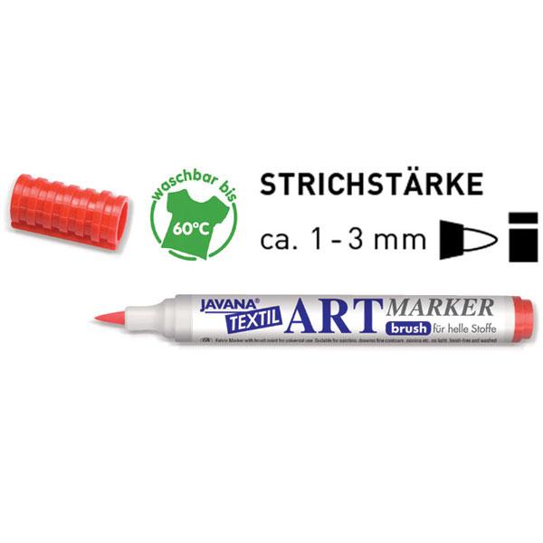 Textilstift JAVANA Artmarker