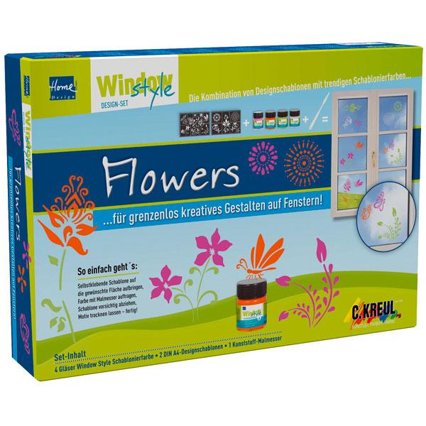 Window Style Set - Flowers