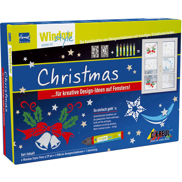 Window Style Set - Christmas