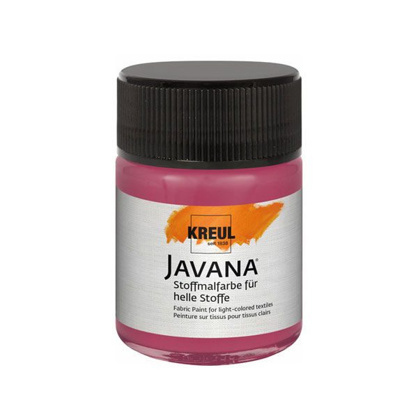JAVANA Stoffmalfarbe für helle Stoffe, 50 ml