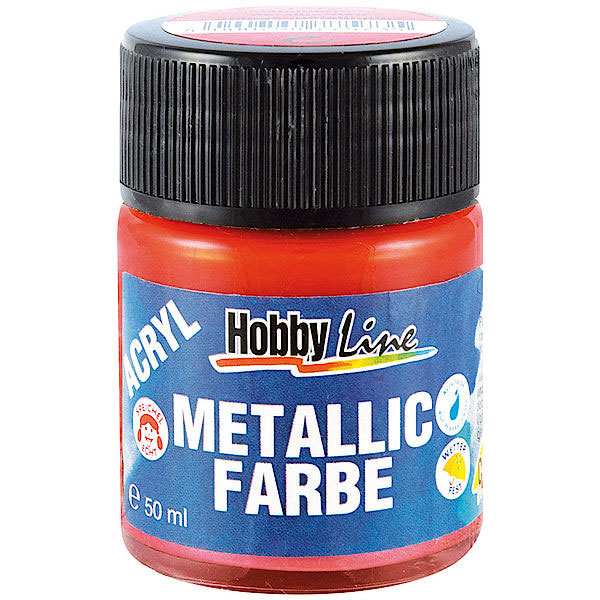 Kreul Acryl-Metallicfarbe 50 ml