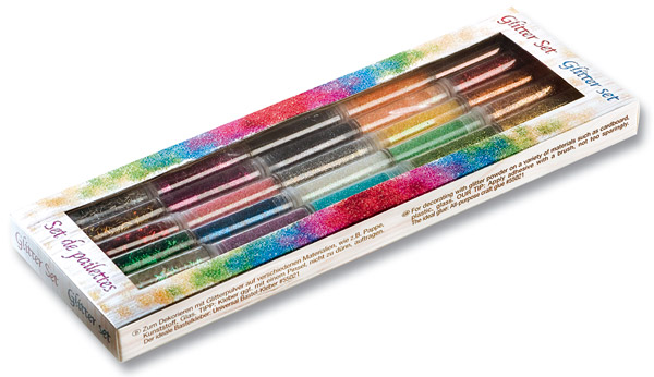 Glitter-Set, 30-teilig