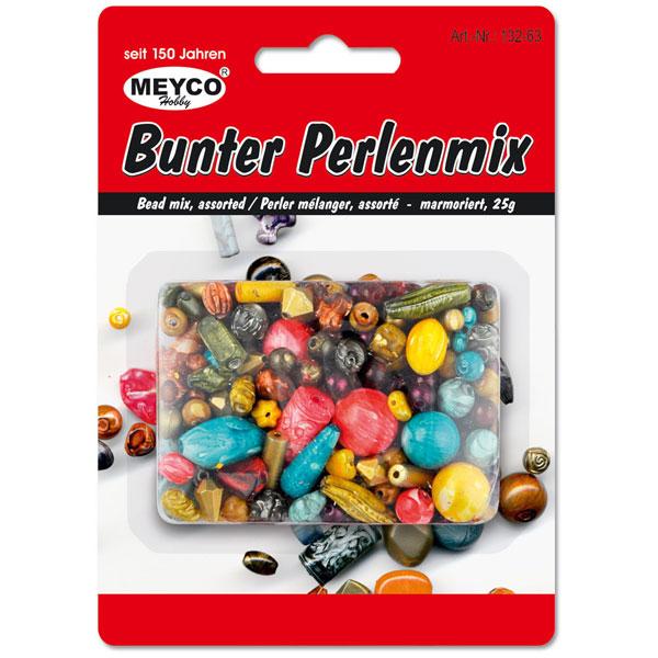 Bunter Perlenmix, 25 Gramm
