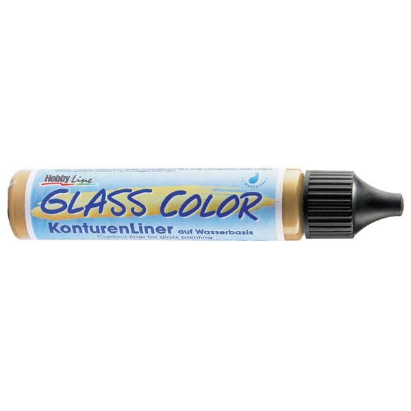 KREUL Glasmalfarbe Glass Color Konturenliner