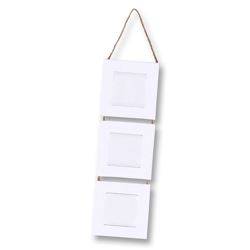 Blanko-Bilderrahmen 3er-Set zum Aufhängen