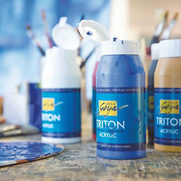 Acrylfarbe SOLO GOYA Triton Acrylic 750 ml