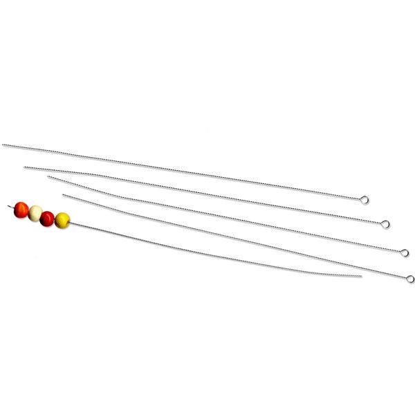Perlenaufreihnadeln 130 mm, 5er-Set