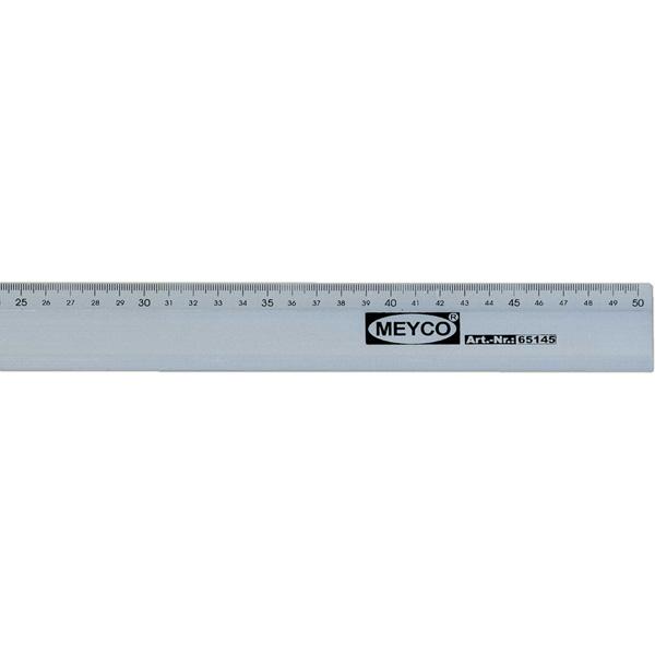 Lineal 50 cm, Aluminium