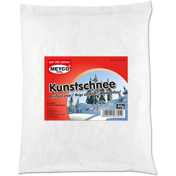 Kunstschnee - Deko-Schnee, 50 Gramm