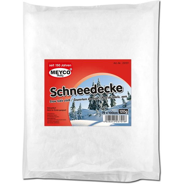 Deko-Schneedecke, 75 x 100 cm