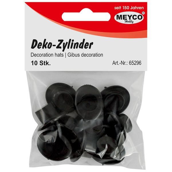 Deko-Zylinder, Schwarz