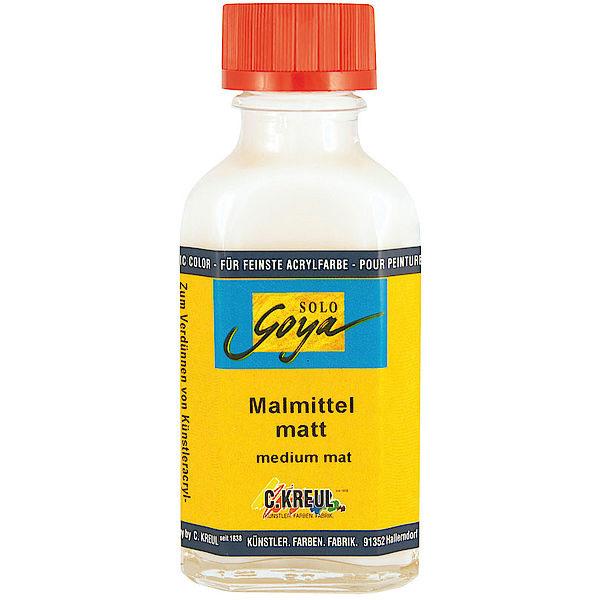 Solo Goya Künstler-Acryl-Malmittel matt 125 ml