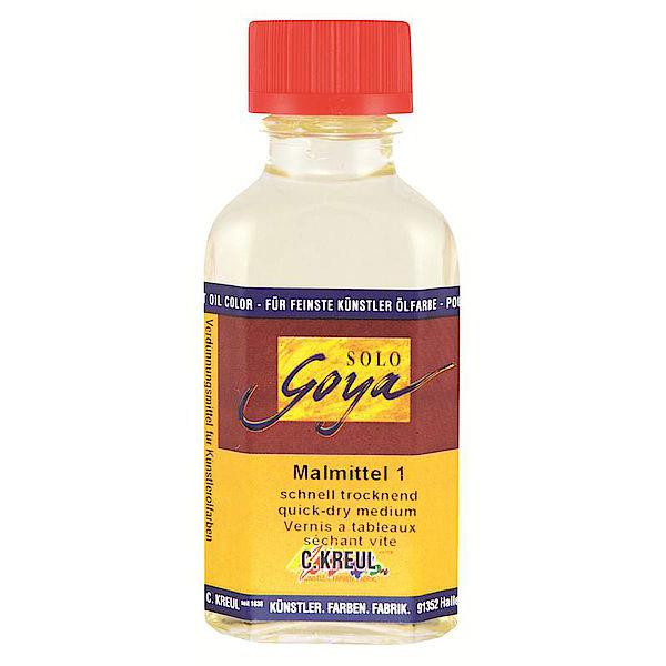 SOLO GOYA Malmittel 1 trocknungsbeschleunigend 50 ml