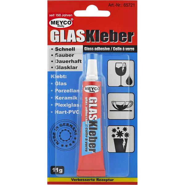 Glas-Kleber, 11 g Tube