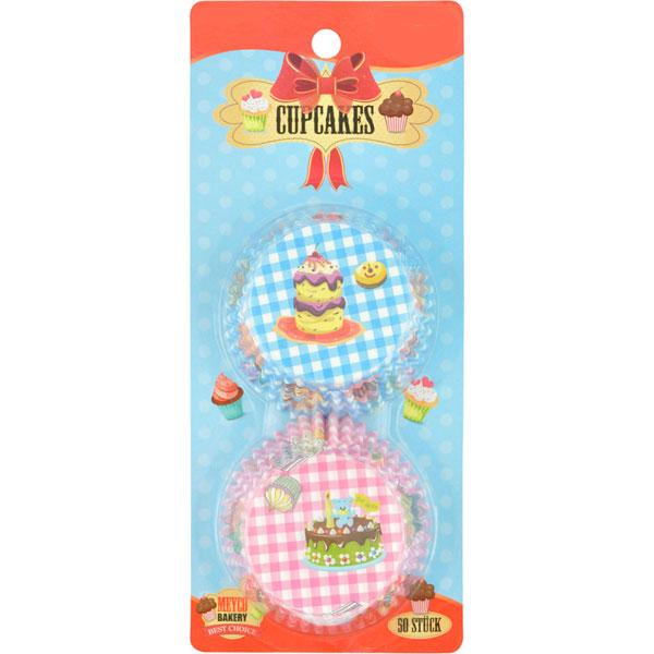 Cupcake-Förmchen und Cupcake-Becher XXL-Set, 396 Teile