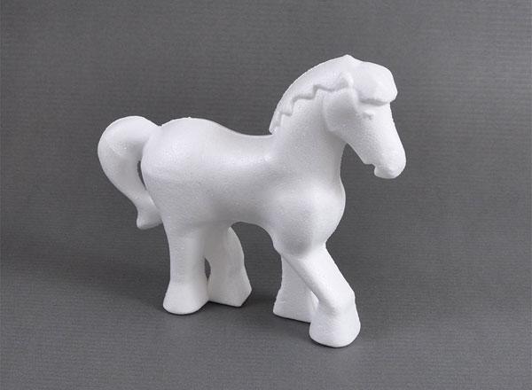Styropor-Pony