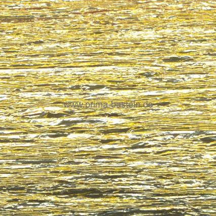 Alu-Krepppapier metallic-gold, 50 x 100 cm
