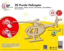 "3D Holz-Puzzle ""Helicopter"""