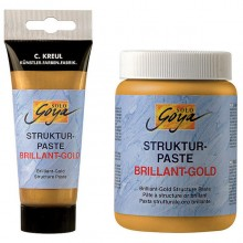 Strukturpaste Brillant-Gold