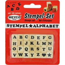 Stempel-Set ABC, Stempel Alphabet