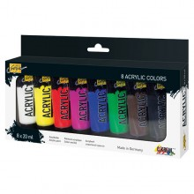 Acrylfarbe Solo Goya Acrylic 20 ml, 8er-Set